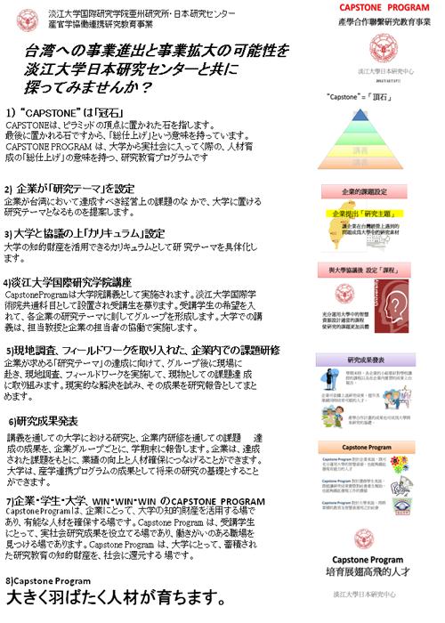 CapstoneProgram成果発表会